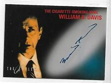 Tradingcards - The X-Files - Movie - Autographs - William B. Davis von 1998