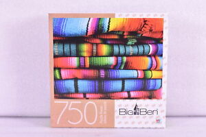 Big Ben 750 Piece Puzzle - Mexican Blanket - Mayan Style