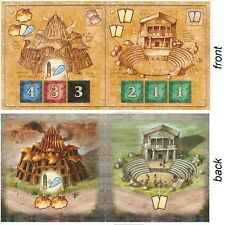 Blue Moon City expansion New buildings Tile Set II Spielbox 2006 Theater Shrine
