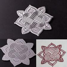 Flower Frame Metal Cutting Dies Stencil Scrapbooking Card Paper Embossing Craft