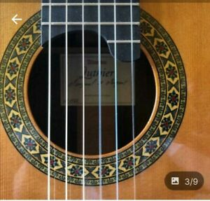 Classical Guitar Alhambra: luthier series India and montcraber.