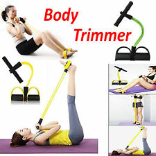 Body Trimmer Fitness Elastic Sit Up Pull Rope Home Gym Sport Abdominal Exerciser