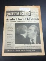 July 16th 1979 The Spotlight Newspaper ARABS HAVE H-BOMB Carter Brezhnez Kiss