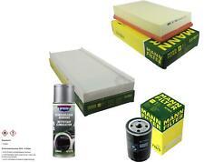 MANN-FILTER Paket + Presto Klima-Reiniger für Audi 80 8C B4 89 89Q 8A B3