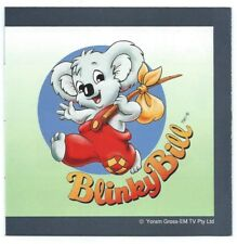 JANOME Memory Craft 9000 Machine Embroidery BLINKY BILL Memory Card
