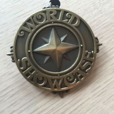 DISNEY PIN  WORLD SHOWCASE BRONZE COLORED 3D PIN, FAST SHIPPING