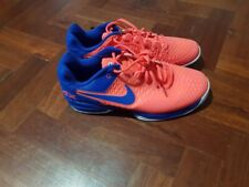 Nike Cage Air Max Tennis Shoes Pink & Blue - Size US 10