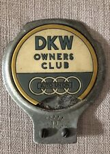 DKW / Auto Union Owners Club badge/ abzeichen