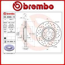 09.9369.1X#84 DISCO FRENO ANTERIORE SPORTIVO BREMBO XTRA OPEL ZAFIRA B Van 1.6 C
