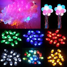 Hot 50pcs Waterproof LED Light For Paper Lantern Ballon Wedding Party Decor TY