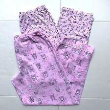 Lot of 2 Sleepwear Womens Pajamas Pants Pink Size S