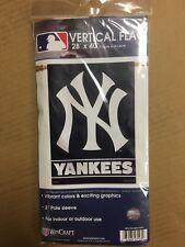 "WINCRAFT NEW YORK YANKEES 28"" X 40""  BIGGER SIZE FLAG 431431"