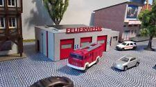 moderne Feuerwehr |  Bausatz  | Spur N | 1:160  Lasercut | Feuerwache
