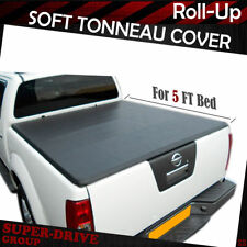 """Premium Lock Roll Up Tonneau Cover For 2005-2018 Nissan Frontier 5' FT 60"""" Bed"""