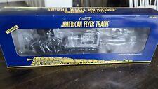 American Flyer 6-49032 Bethleman Steel Depressed Center Searchlight Car Lot #202