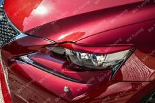 MVTuning Front Eyelids Eyebrows Headlights Covers for Lexus IS III gen 2013-2016