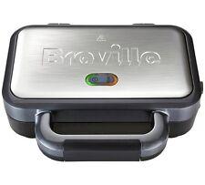 Breville VST041 2 Slice Deep Fill 850W Sandwich Toaster Designed And  Silver