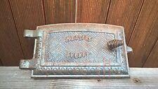Antique Vintage Cast Iron Metters Sydney Door - Wood Stove Part - Pizza Oven