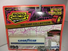 Road Champs  GOODYEAR  MACK  COE Tractor Trailer HO Scale Diecast