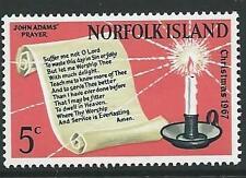NORFOLK ISLAND SG92 1967 CHRISTMAS  MNH