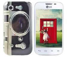 Hülle f LG L40 D160 Schutz Case Cover Tasche Bumper Etui Silikon TPU Kamera Foto