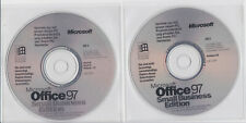 Microsoft Office 97 Small Business Edition - 2 CDs ohne Product-Key offen - 1998