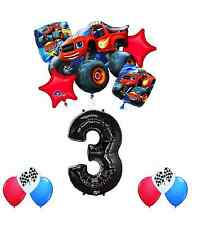Blaze and the Monster Machines 3rd  Birthday 12pc   Balloon Bouquet