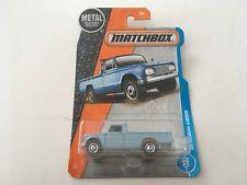 Matchbox 1962 Nissan Junior Blue 1:64 Diecast Model Pickup Truck