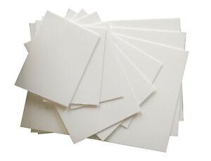 Cheap Plasticard White Matt/Gloss High Impact Polystyrene, 0.5 to 3mm, A5 to A3