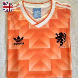 Holland Netherlands Football Soccer Shirt Jersey Retro Vintage Classic 1988 Size