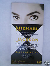 Michael Jackson Black or White 3' Promo Japan ESDA 7083