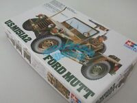 Tamiya 35123 1/35 U.S. M151A2 Ford Mutt Kit CQ223 Scale Model Kit Ryu