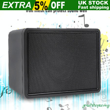 Black 3 Watt Guitar Mini Audio Sound  Portable Amp: Amplifier