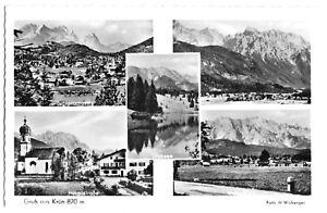 AK, Krün bei Mittenwald, fünf Abb., um 1965