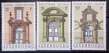 Luxembourg 1988 Doorways Set. Mnh.