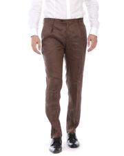 Pantaloni Daniele Alessandrini Trouser Uomo Marrone P3522S20053801 24 Tg. 48