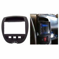 Car Stereo Radio Fascia Panel 2 Din Frame For Toyota Aygo CITROEN C1 PEUGEOT 107