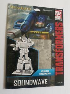 Transformers Metal Earth Soundwave