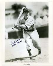 Lloyd Waner Psa Dna Coa Autographed 8x10 Photo  Hand Signed Authentic