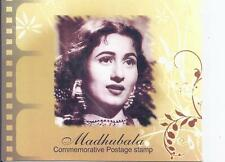 MADHUBALA FILM ACTRESS Stamp Booklet with Stamps