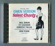 Gwen Verson cd-soundtrack SWEET CHARITY Early 80s Press Made in USA-17-Track-CD