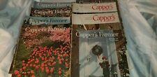 Lot of 8  Vintage Cappers Farmer Magazine 1950