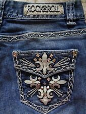 ROCK & ROLL COWGIRL Jeans Size 27 X 32