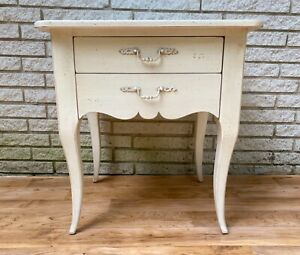 1 of 2: Ethan Allen Maison of Ethan Allen- Patrice 2-Drawer Table