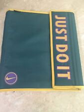 Nike JUST DO IT! Mead 3 Ring Binder 1Vintage Rare  90's School Notebook