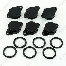 6 x 32mm nero alluminio girevole SPORTELLO RICAMBIO + O-RING PER BMW 3 SERIE