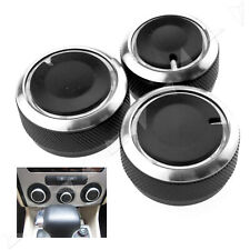 Smart Style Aluminium Heater Dash Knobs Buttons for VW Polo MK4/MK5 9N 9N3