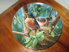 Birds of Your Garden Collection~1986 Knowles~The Robin