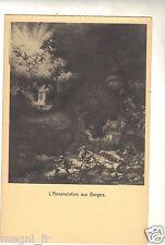 Rembrandt Harmenszoon van Rijn (1606–1669) : l'annonce aux bergers