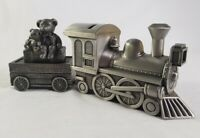 Memories Metal Train Money Bank and Tooth and Curl Carriage Container Bears